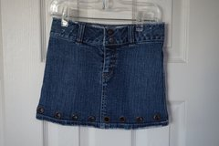 Girls Guess Denim Skirt Size 6 in Naperville, Illinois