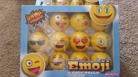 Emoji golf balls in Warner Robins, Georgia