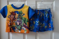 Boys Disney Toy Story 2-Piece Pajama Set Size 24 Months in Lockport, Illinois