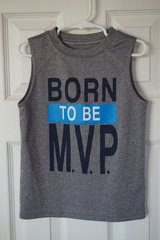 Boys Carter's MVP Tank Size 4T in Aurora, Illinois