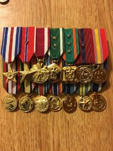 Military Medals done professionally in Camp Pendleton, California