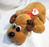 Pound Puppies Brown Dog Stuffed Animal Anuthentic in Kingwood, Texas