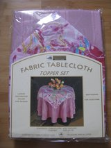 Round Table Topper Decorator with Lace (1 of 2) in Lockport, Illinois