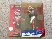 Drew Bledsoe McFarlane Figure in Camp Lejeune, North Carolina