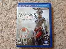 PS Vita Assasins Creed III in Camp Lejeune, North Carolina