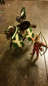 Schleich figurines - Tournament knight with horse and archer in Houston, Texas
