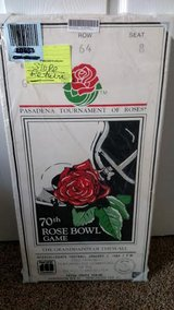 Ticket UCLA Bruins 1984 Rose Bowl Canvas Mega Ticket Print Picture BRAND NEW in Bolingbrook, Illinois