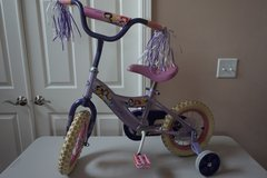 "Kid Bike Disney Princess 12"" Bicycle (with removable training wheels) in Naperville, Illinois"