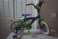 "Kid Bike Disney Tinker Bell 14"" Bicycle (with removable training wheels) in Shorewood, Illinois"