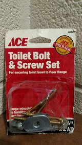 Ace Toilet Bowl Bolt & Screw Set (T=6) in Fort Campbell, Kentucky