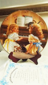 Collector Plate Afternoon Recital Sandra Kuck in Chicago, Illinois