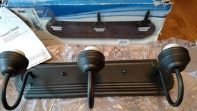 Westinghouse 3-Light Oil Rubbed Bronze Wall Fixture Light bar in Bolingbrook, Illinois