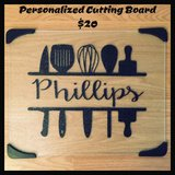 Personalized Cutting Board in Macon, Georgia