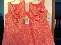 Matching Girls Dresses Size 7 & 14 in Beaufort, South Carolina