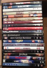 Assorted DVDs in Orland Park, Illinois