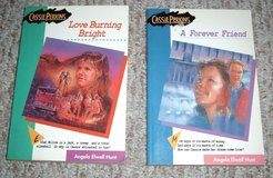 A Forever Friend & Love Burning Bright Lot of 2 Cassie Perkins Series Books Grade 7th-8th Age 9-13 in Joliet, Illinois