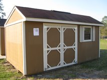 10x16 Garden Shed Storage Building DISCOUNTED!!! in Moody AFB, Georgia