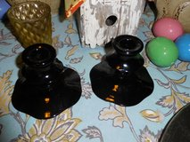 Vintage Black Candlesticks in Bolingbrook, Illinois