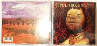 Sepultura Roots rare Argentina CD with bonus tracks OOP in Naperville, Illinois