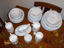 Dishes 4 pc place setting + serving dishes in Bartlett, Illinois