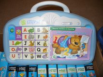 Little Touch Leap Pad & 12 Books! in Schaumburg, Illinois