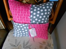 Pink Quilted Pillow in Cherry Point, North Carolina