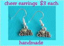 Cheer Earrings in Fort Benning, Georgia