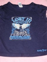 Rock festival sz 18 month shirt in Spring, Texas