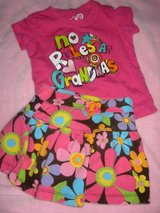 sz 18 month top and skort pink in Spring, Texas