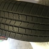 Tires- great condition. 4 total tires in Naperville, Illinois