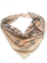 beige scarf with paisley pattern in Ramstein, Germany