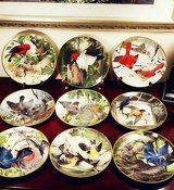 A J Rudisill Bird Plates Collection in Chicago, Illinois