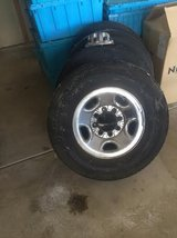 2006 GMC Sierra HD Stock Wheels and tires in Camp Pendleton, California