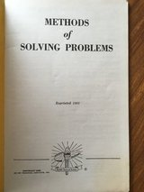 Devry Technical Institute 1961 Methods of Solving Problems in Plainfield, Illinois