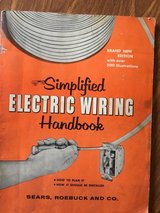 Simplified Electric Wiring Handbook Copyright 1957 in Shorewood, Illinois