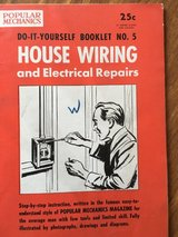 1954 Popular Mechanics Do-It-Yourself Booklet - House Wiring in Shorewood, Illinois