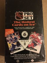 NHL 1991-1992 Pro Set Series 2 Hockey Cards in Original Unopened Box in Chicago, Illinois