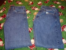 Mens Levis 505 30 X 34 denim jeans 2 pairs in Fort Riley, Kansas