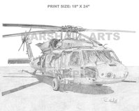 UH-60M Blackhawk Print in Dothan, Alabama