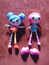 2 Lalaloopsy Dolls Excellent condition in Aurora, Illinois