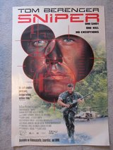 Sniper Movie Poster in Kankakee, Illinois
