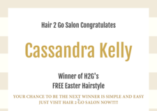 Hair 2 Go Salon Easter Winner in Moody AFB, Georgia