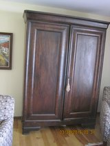 1800's FRENCH MAHOGANY AMOIRE in Oswego, Illinois