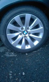 """4 BMW 17"""" wheels with M+S run flat tires in Baumholder, GE"""