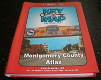 Montgomery County Texas Key Map Atlas Book 10th Edition Maps in Kingwood, Texas