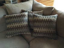 3 matching Accent pillows(BRAND NEW!) in Naperville, Illinois