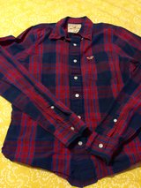 Red and Blue plaid LS in Fort Lewis, Washington