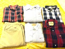 Assorted LS cotton shirts and pants in Fort Lewis, Washington