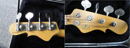 G&L L2000 Custom Tribute Bass Guitar (Made in Japan) with Gig Bag only (active) in Okinawa, Japan