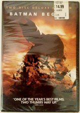 Batman Begins (Two-Disc Special Edition)  New Sealed in Batavia, Illinois